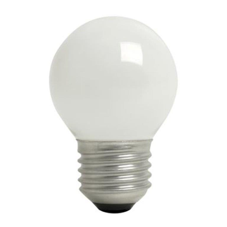 Lampada para Lustre Bolinha 40W Branca E27 127V - Brasfort