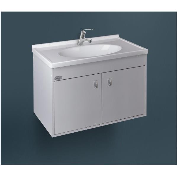Gabinete para Banheiro Fosco 41 x 5650 cm Allure Branco 328886 - Policlass