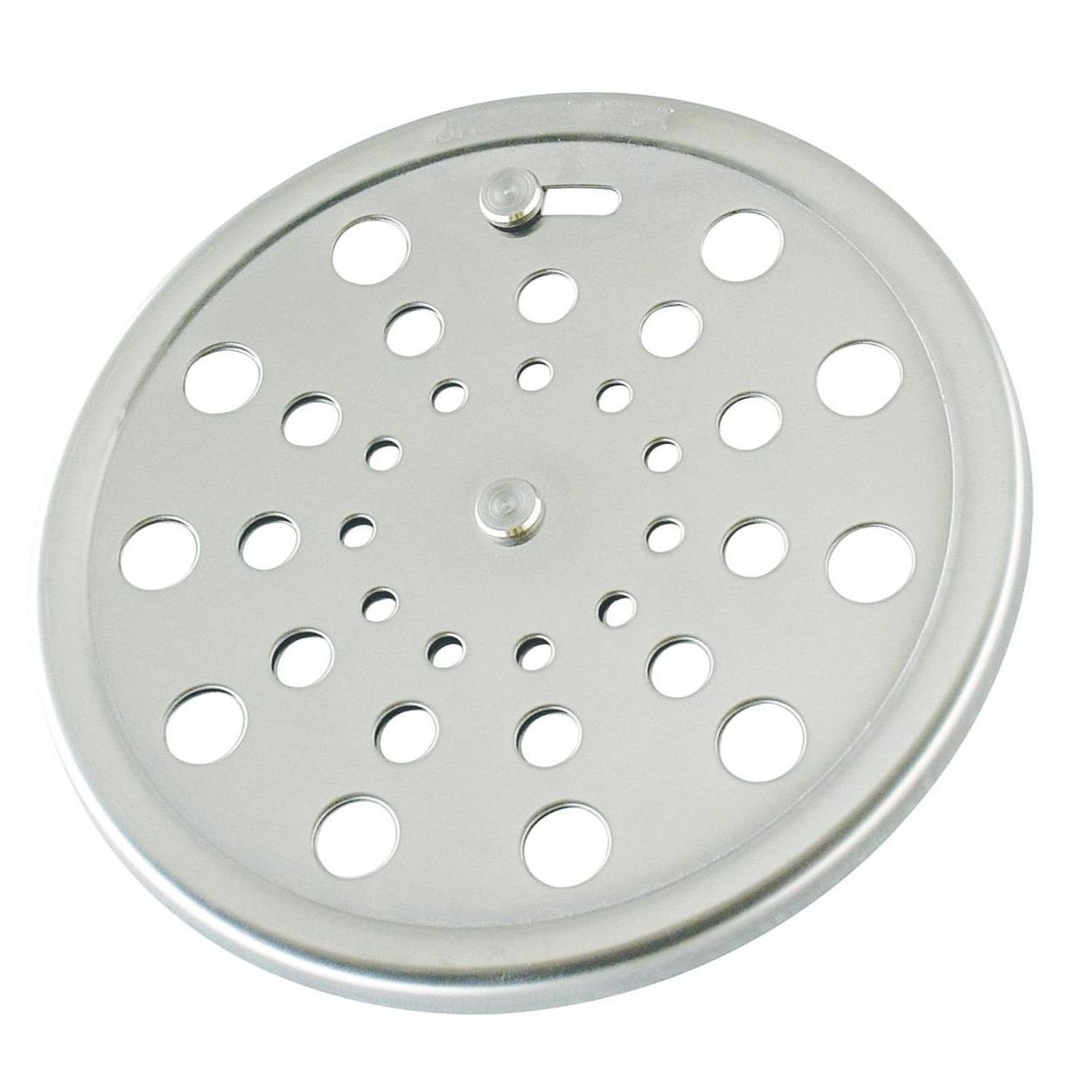 Grelha de Inox Redonda para Esgoto Fecho 10cm 2984 - Jackwal