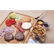 Tábua de Carne Madeira 49x28cm Teca 13214/052 - Tramontina