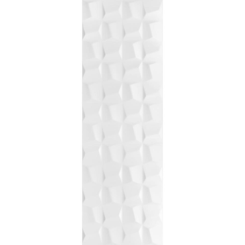 Revestimento Cubic White Acetinado Tipo A Retificado 30x90cm 162m Branco - Eliane