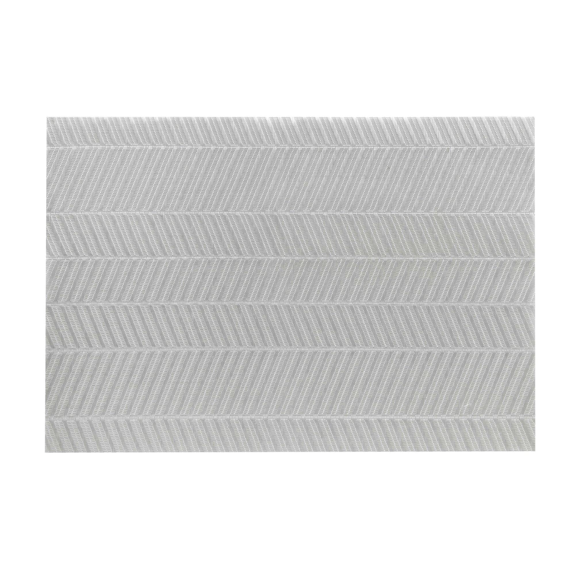 Pano Americano Retangular 35 x 48 cm PVC e Poliester Cinza - CopaCia