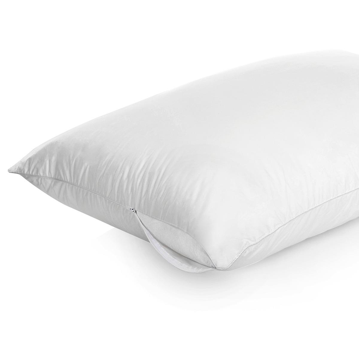 Protetor para Travesseiro Impermeavel Cameba Branco - Vida Pratika