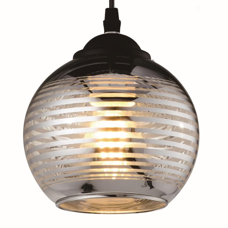 Pendente Vidro Venus 1 Lampada 15cm - Ecoline