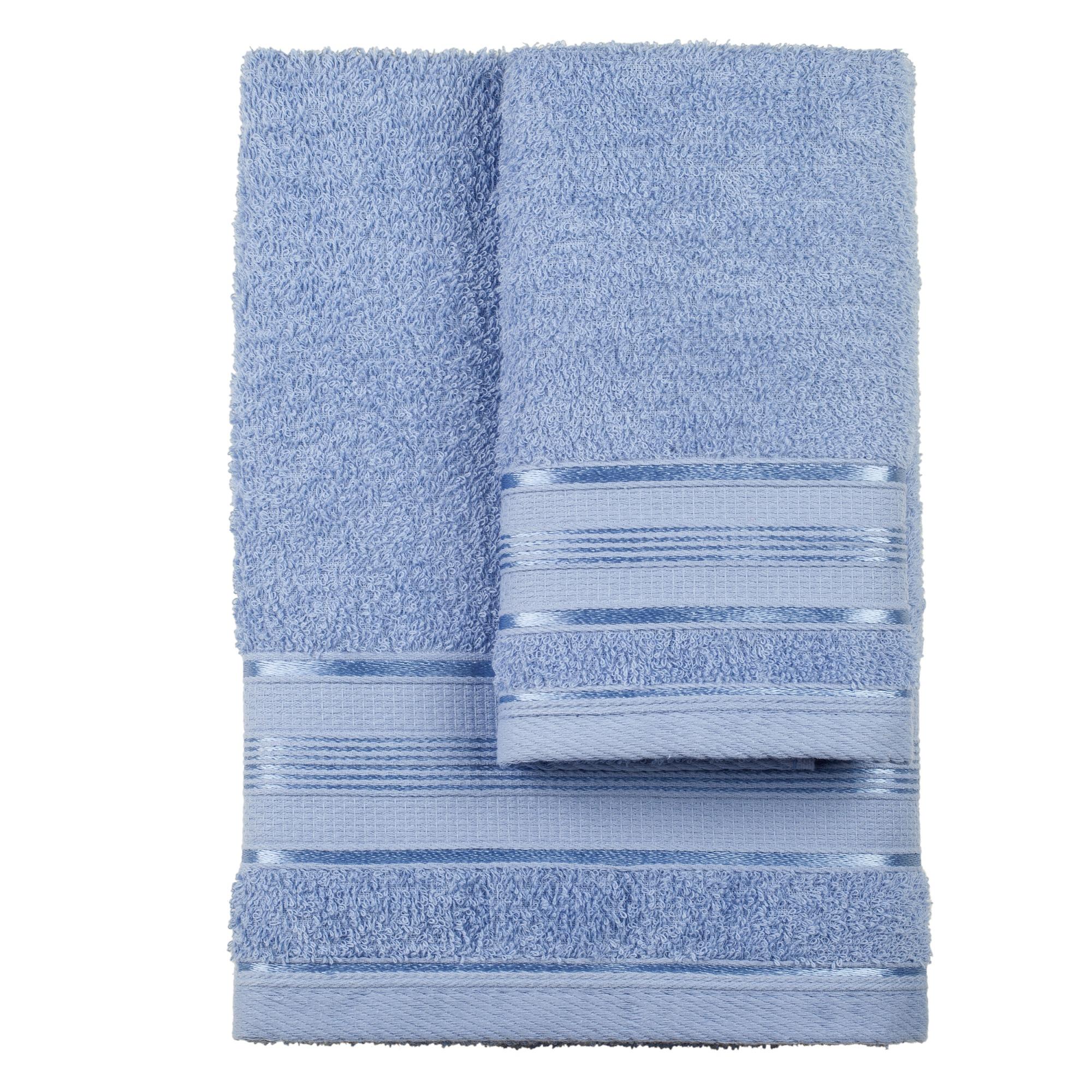 Jogo De Toalha Royal Knut 2 Pecas Azul - Santista