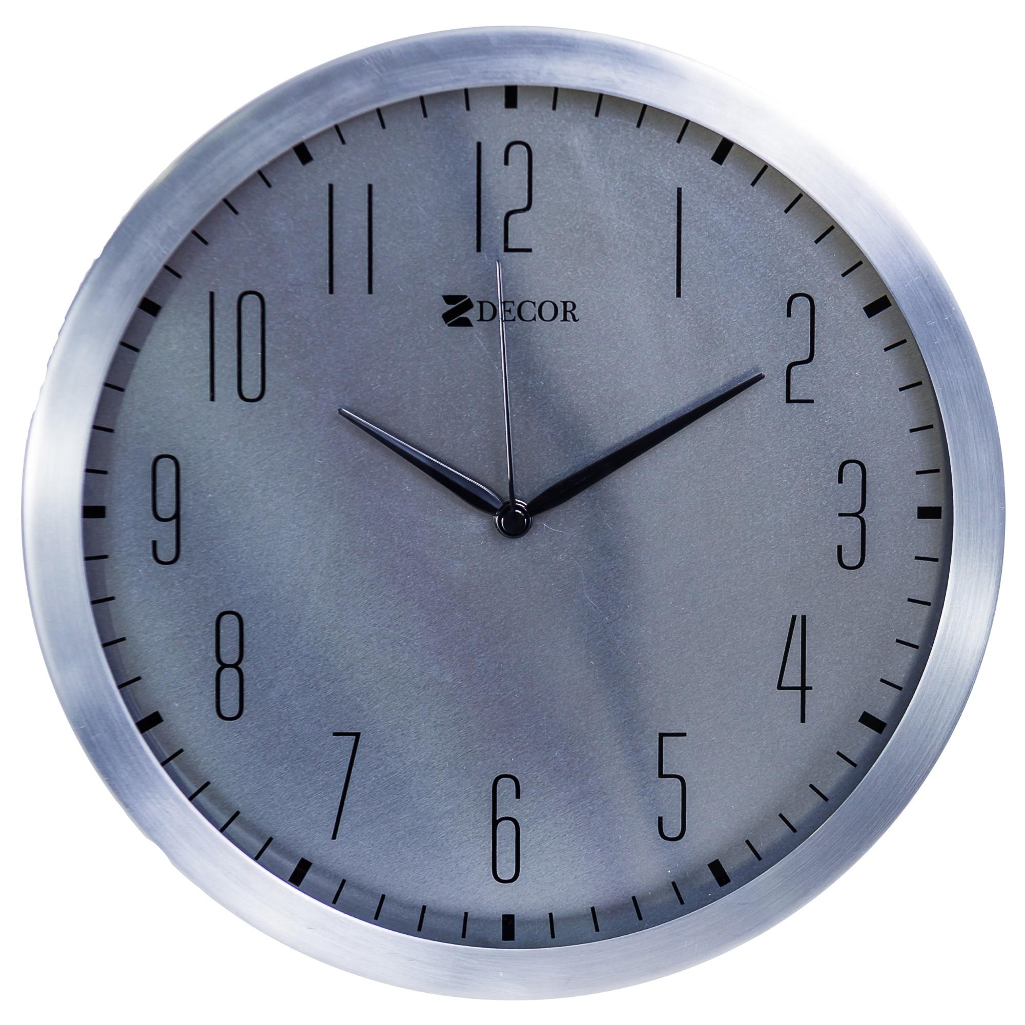 cc1ecd0f2f3 Ferreira Costa - Relógio de Parede Work Alumínio 39