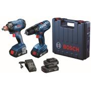 Kit Furadeira/parafusadeira e Chave De Impacto 06019G52E2-000 - Bosch