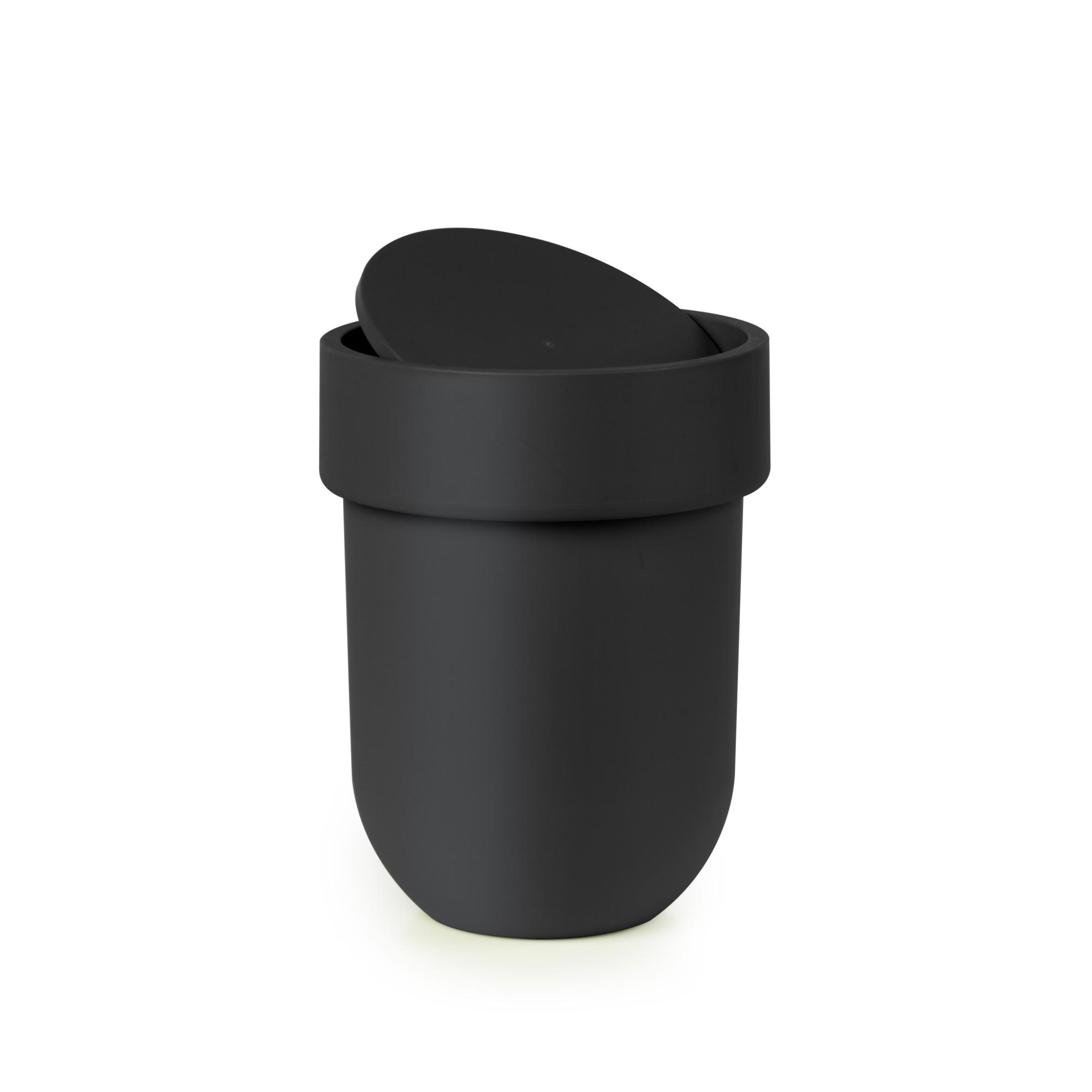 Lixeira Basculante para Pia Plastico Preta 023269-040 - Umbra