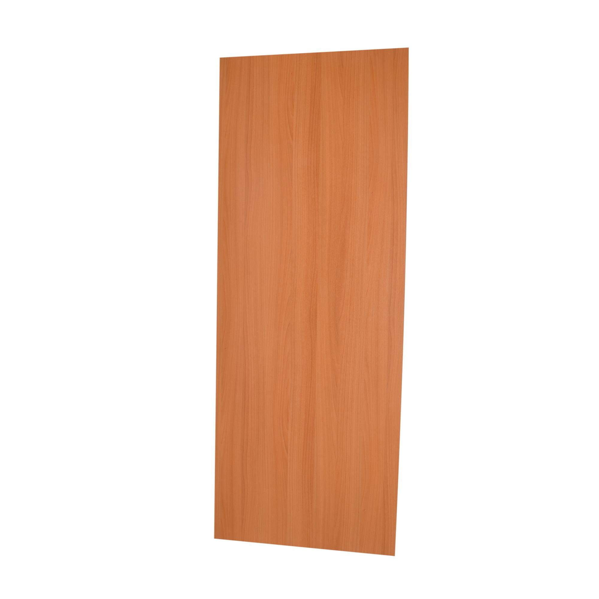 Porta de Madeira de Abrir Lisa Semissolido 60 x 210cm Pinus - Branco - Madelar