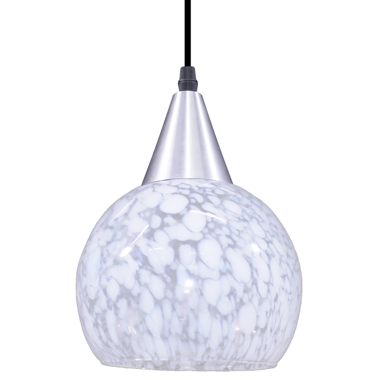 Pendente Aluminio e Vidro Rovigo 1 Lampada 0211 - Taschibra