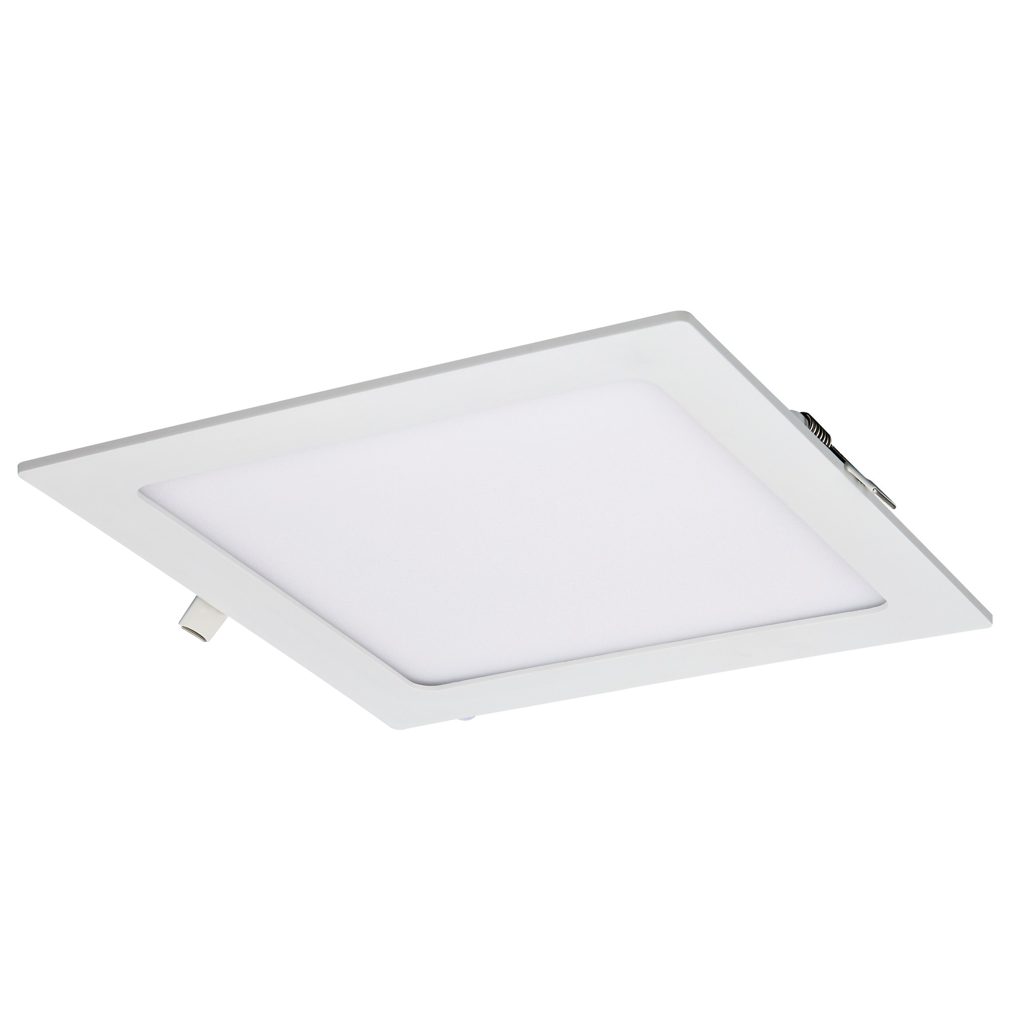 Painel LED Quadrado de Embutir em Aluminio Luz Branca 18W Bivolt - Ecoline