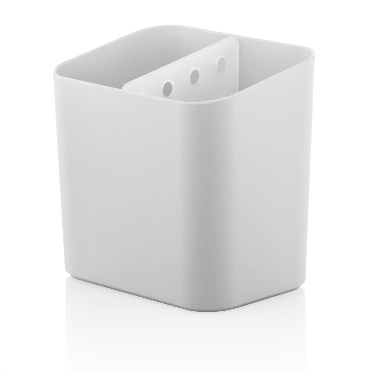 Escorredor de Talheres de Plastico Branco fosco - Trium - Ou