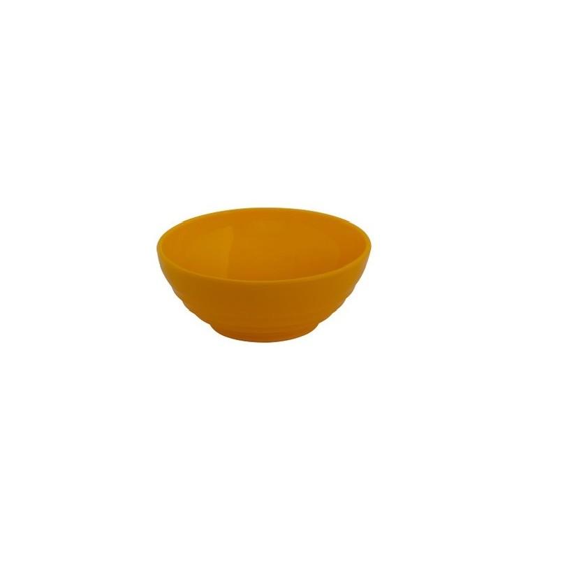 Tigela de Plastico 500ml Amarela - Vem Plast