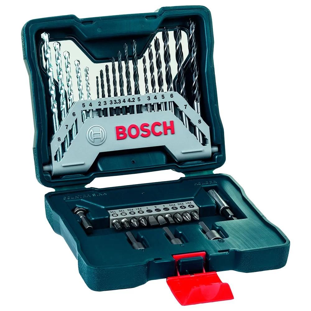 Jogo de Acessorio XLINE Titanio 33 Pecas 2607017398 - Bosch