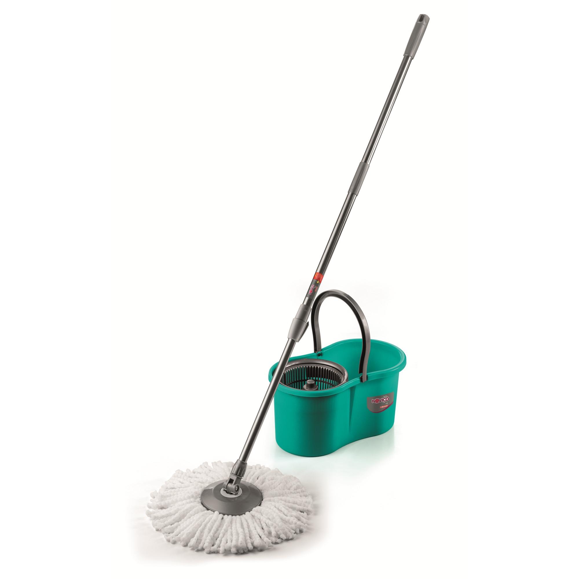 Mop com Balde Centrifuga 80L Verde - Bettanin