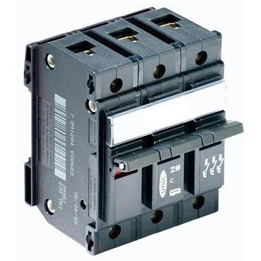 Disjuntor NEMA Tripolar 127220 VCA 25A Tipo C - Legrand 09948