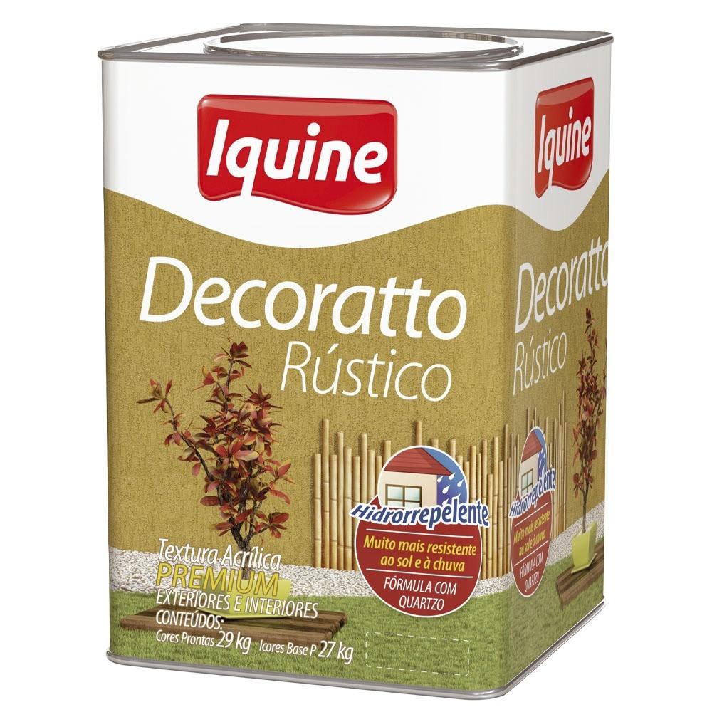 Textura Premium 290Kg - Areia - Decoratto Rustico Iquine