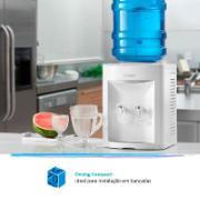 Bebedouro de Mesa para Garrafão Refrigerado por Compressor Branco 220V - FN2000 Ibbl