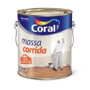 Massa corrida (PVA) Branco Neve Galão 3,6L - Coral