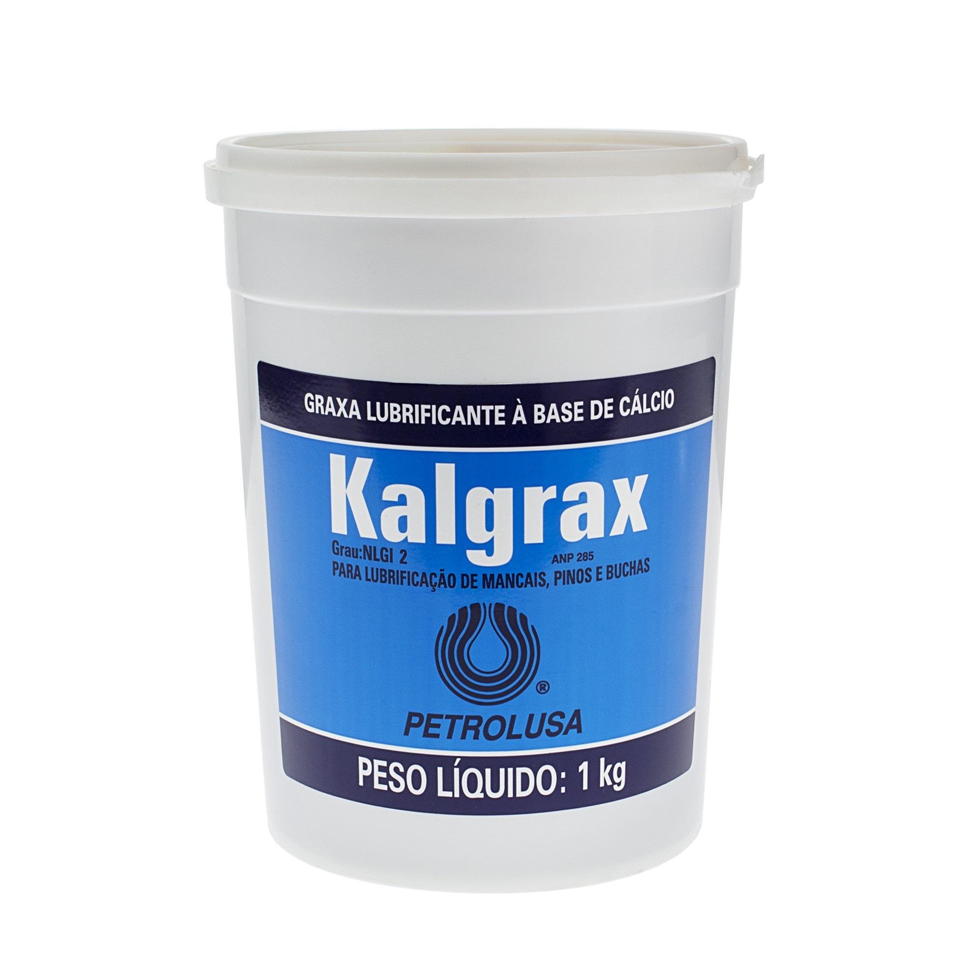 Graxa de Calcio Kalgrax 1 kg - Petrolusa
